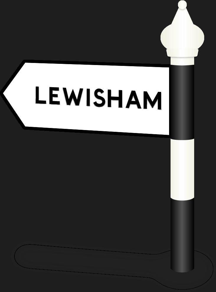Lewisham Road Sign