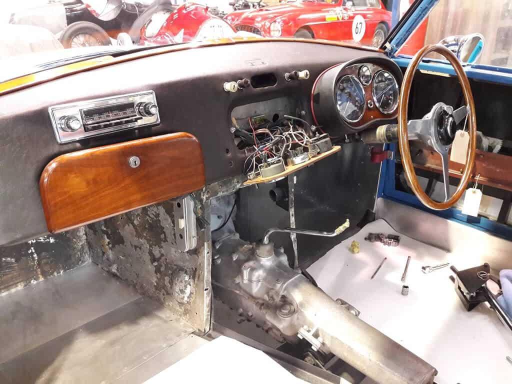 VPL 441, dashboard rebuild