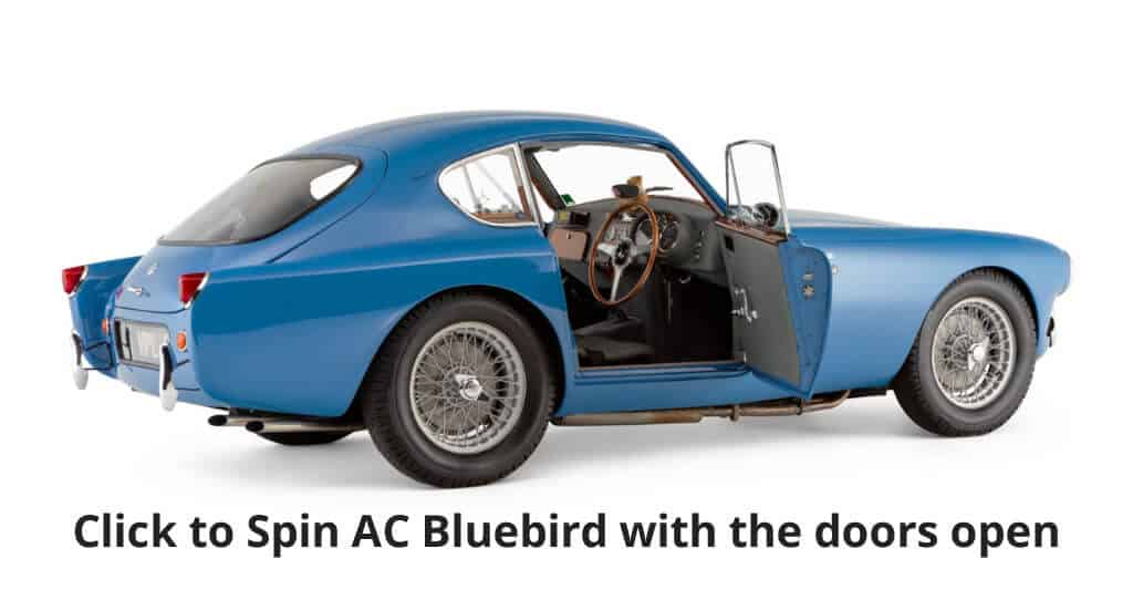 Click to spin AC Bluebird with the doors open