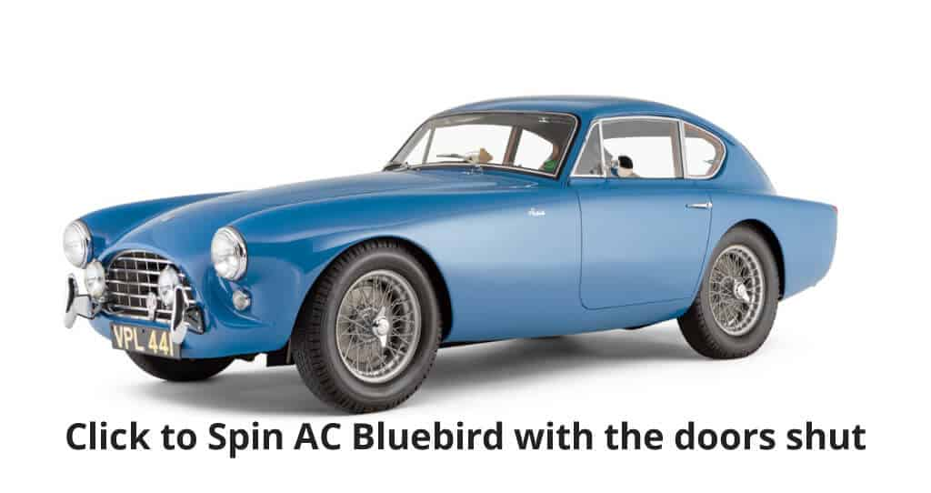Click to spin AC Bluebird with the doors shut