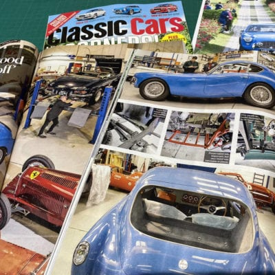 AC Bluebird article in Classic Cars magazine March 2020