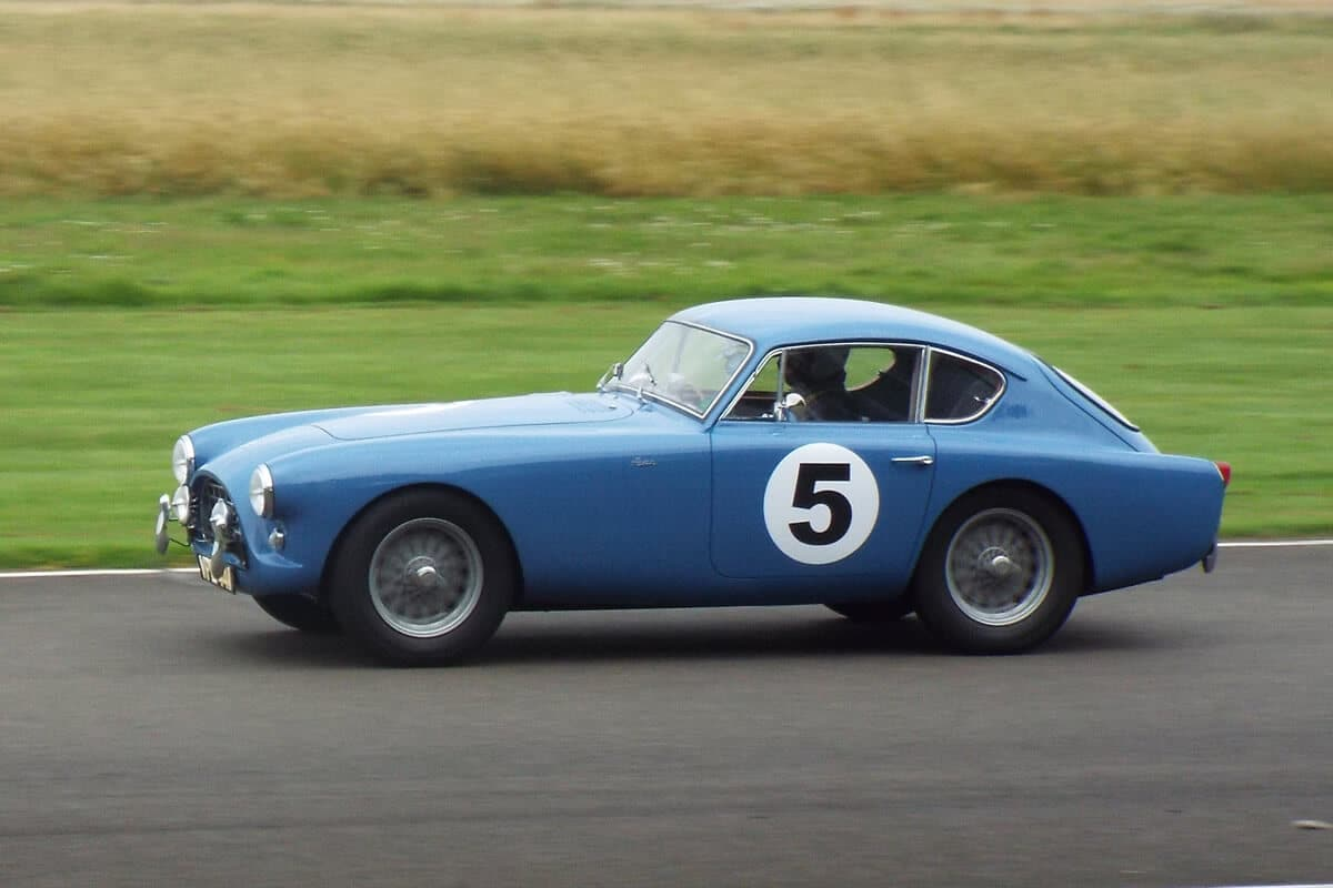 AC Bluebird at Goodwood, August 2021 Picture 2 - Photo by Neil Fouracre