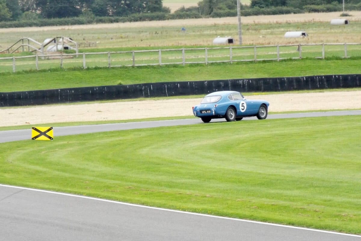 AC Bluebird at Goodwood, August 2021 Picture 3 - Photo by Neil Fouracre